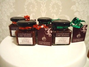 A range of our homemade jams.
