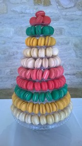 bands coloured buscuits