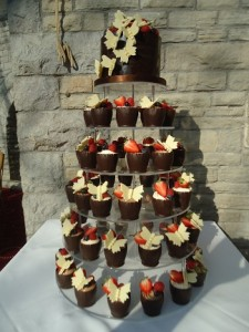 chocolate buttery tower