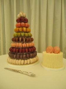 coloured macaroon bands