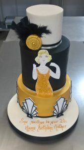 20th Birthday Cake created by Contemporary Cake Designs